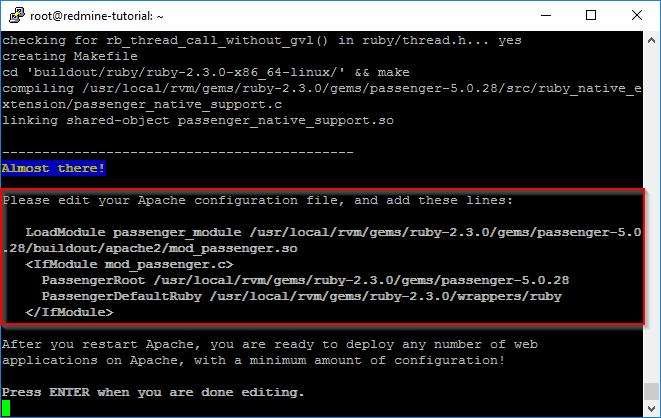 Ubuntu Passenger-Modul für Apache installieren