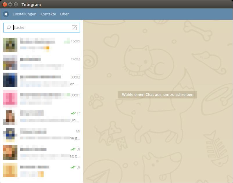Telegram unter Ubuntu