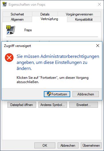 Programm als Administrator starten ohne Passwort