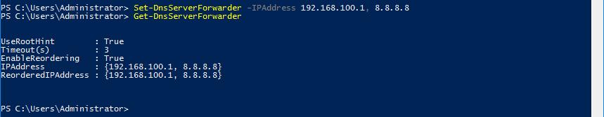 DNS-Forwarder einrichten