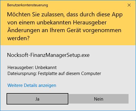 UAC unter Windows 10