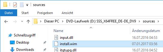 Eigene Windows Images